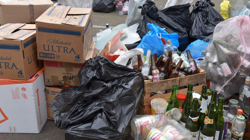 'Reciclón' en Xalapa reúne 20 toneladas de desechos - Desechos en Reciclón de Xalapa, Veracruz. Foto de @AytoXalapa