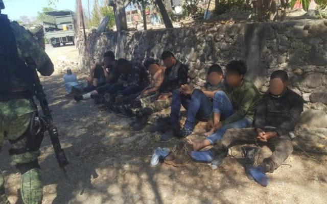 Capturan a 18 presuntos sicarios en Guerrero - Foto de Vocero Roberto Álvarez Heredia