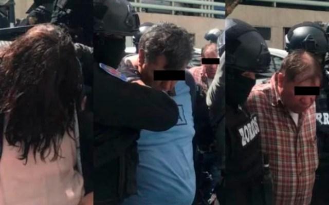 Detienen a tres asaltantes de automovilista en Álvaro Obregón - Detenidos por asalto a automovilista. Foto de El Universal