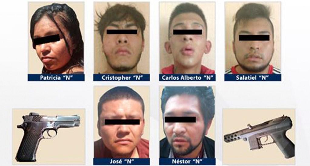 Detienen a ocho por homicidio de dos niños en Cocula, Guerrero - Detenidos por homicidio de dos niños en Cocula. Foto de @fiscaliaguerrero