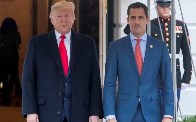 """Guaidó califica de """"muy productiva"""" su reunión con Trump - Donald Trump Juan Guaidó Estados Unidos Venezuela"""