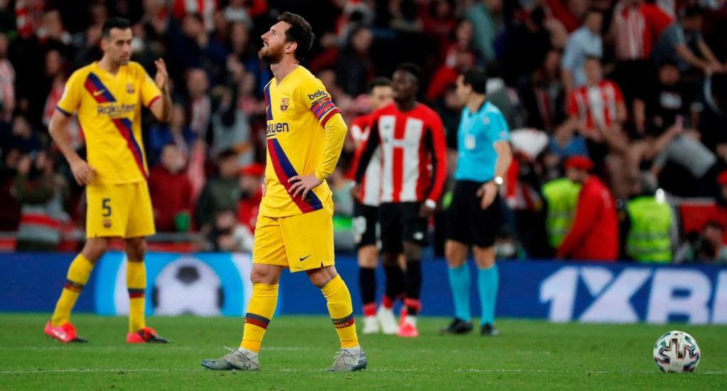 Athletic elimina de último minuto al Barcelona de la Copa del Rey - Athletic elimina de último minuto al Barcelona de la Copa del Rey