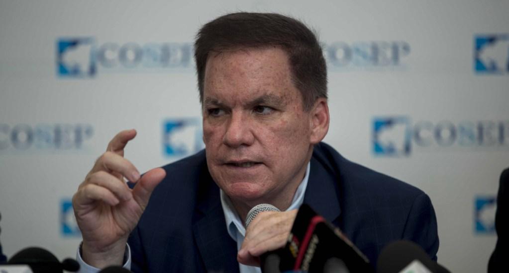 Empresarios denuncian que el presidente de Nicaragua evade impuestos - José Adán Aguerrí, presidente del Consejo Superior de la Empresa Privada (COSEP), principal patronal de Nicaragua