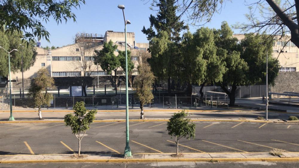 Facultad de Ciencias de la UNAM se va a paro - Facultad de Ciencias de la UNAM. Foto de @A_marquez7