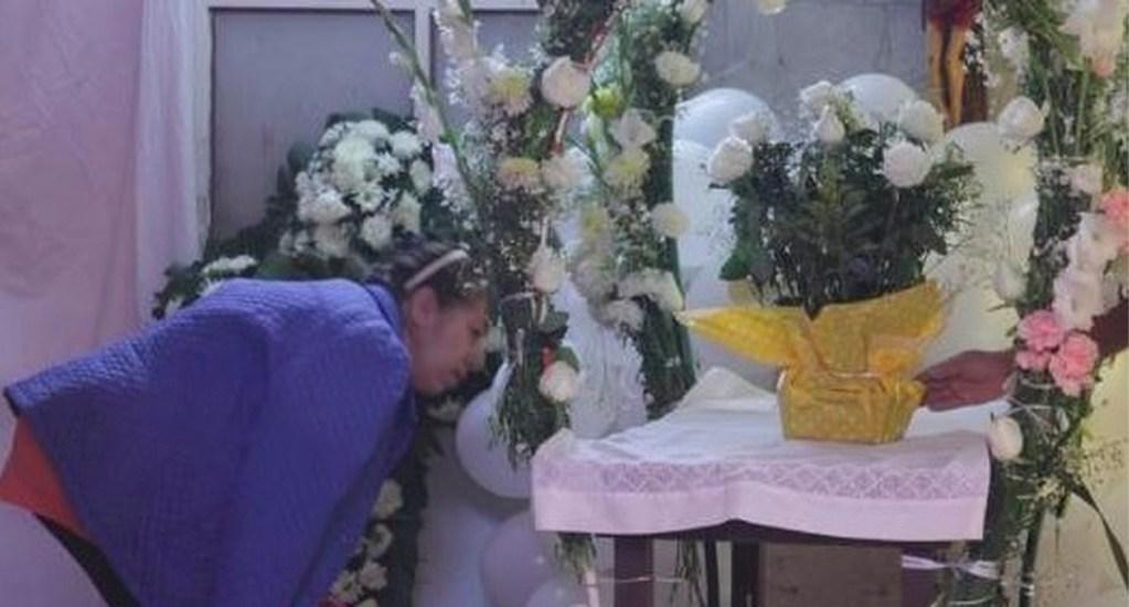 Vecinos realizan colecta para el funeral de Fátima - Alrededor de 50 vecinos esperan a que autoridades entreguen el cuerpo de Fátima a su familia, para poderla velar en su casa
