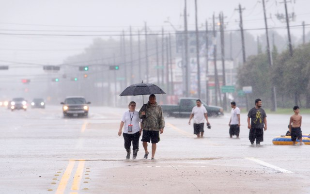 Activan alerta en costa este de EE.UU. por tormentas que han dejado 5 muertos - Inundación en EE.UU. Foto de EFE
