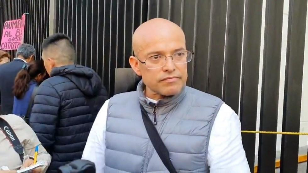 Padres de niños con cáncer denuncian que continúa el desabasto de medicamentos - Israel Rivas, vocero de los padres con niños con cáncer