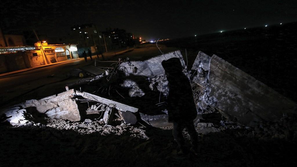 Disparan un nuevo proyectil desde Gaza a Israel - Foto de EFE