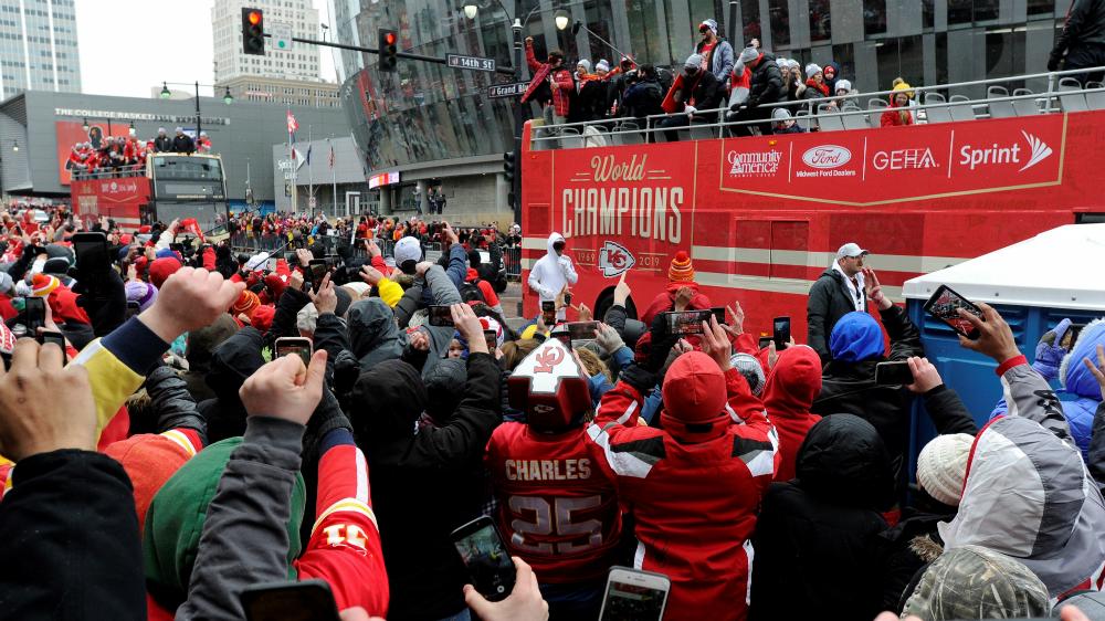 Kansas City celebra ante sus seguidores la conquista del Vince Lombardi - Foto de EFE