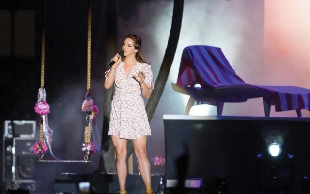 Lana del Rey cancela gira por enfermedad que le provocó pérdida de voz - Foto de EFE