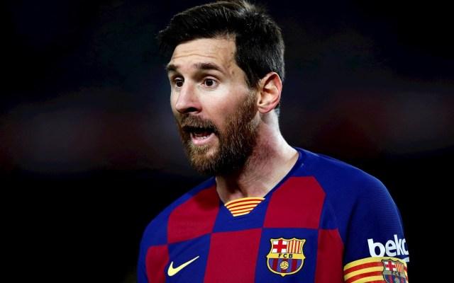 """Messi reconoce que Barcelona se ha mostrado """"muy débil"""" este año - Lionel Messi. Foto de EFE/ Alejandro Garcia/Archivo."""