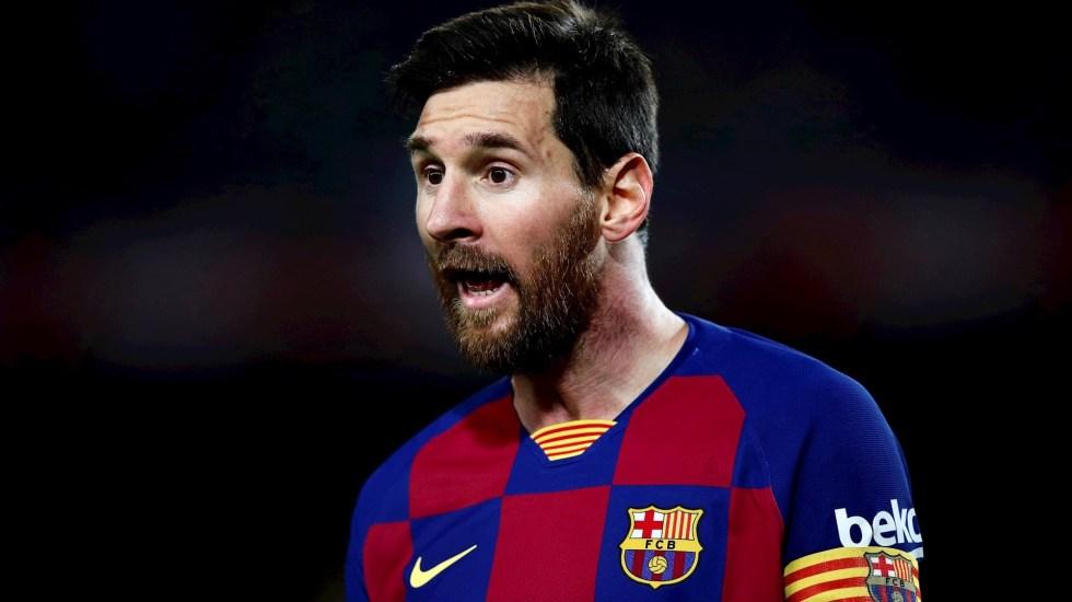 Messi, el futbolista mejor pagado del mundo, según L'Equipe - Lionel Messi. Foto de EFE/ Alejandro Garcia/Archivo.