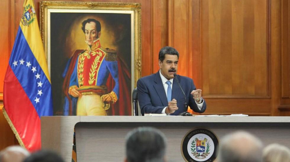 Nicolás Maduro augura que llegará el día en que Guaidó vaya a la cárcel - Maduro en su primera conferencia de prensa de 2020. Foto de @NicolasMaduro