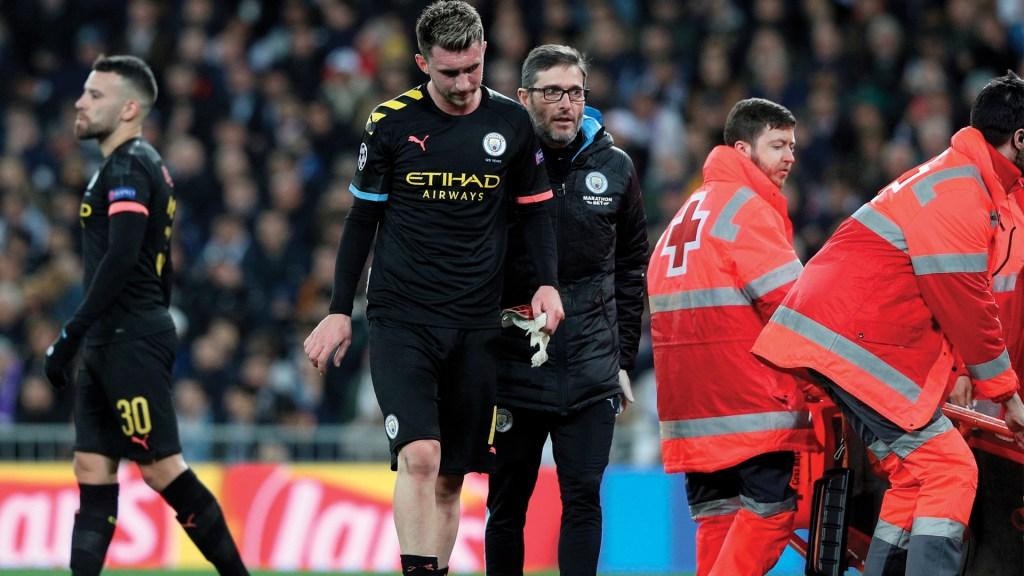 Aymeric Laporte será baja con Manchester City por tres semanas - Foto de EFE