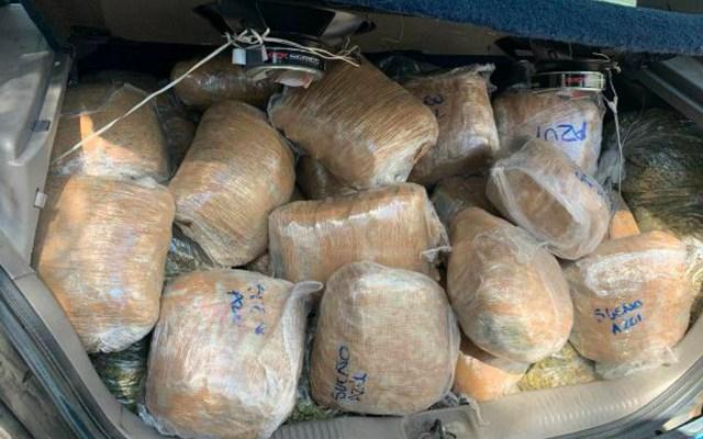 Decomisan en Tepito más de 100 kilos de mariguana y detienen a cuatro - El periodista Carlos Jimenez informó que uno de los detenidos es 'René', hermano de 'El Colosio', fundador de La Unión de Tepito