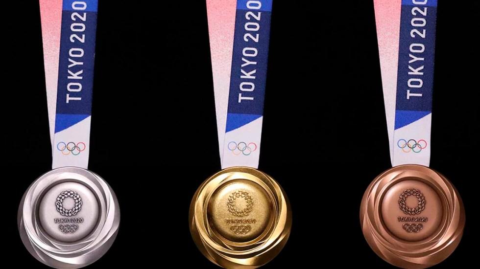 México va por al menos cinco medallas en Tokio 2020 - Medallas de Tokio 2020. Foto de tokyo2020.org