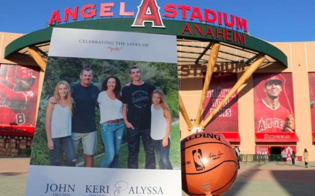 Realizan memorial de entrenador Altobelli, su esposa e hija que murieron junto a Kobe Bryant - Memorial del entrenador Altobelli, su esposa y su hija que murieron junto a Kobe Bryant