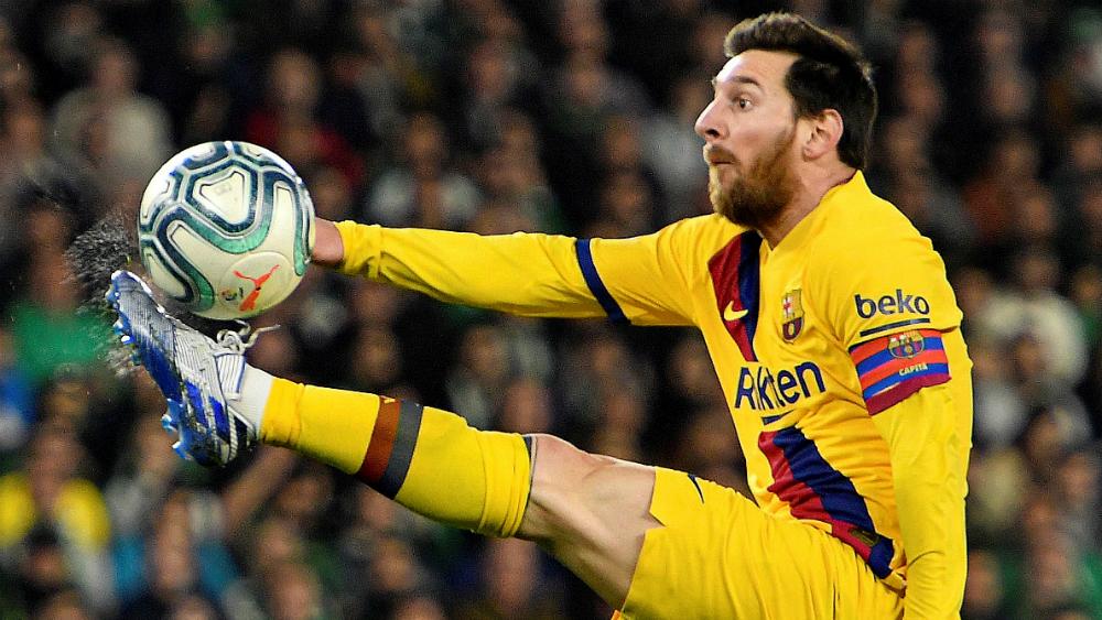 """""""Entrenar con Messi no se compara con nada"""", expresa extécnico del Barcelona - En la foto, el argentino Lionel Messi. Foto de EFE"""
