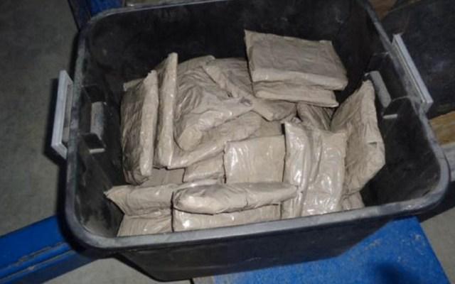 Detienen a estadounidense con 1.6 mdd de metanfetamina en puente Anzalduas-Reynosa - Metanfetamina Puente entrada Anzalduas-Reynosa