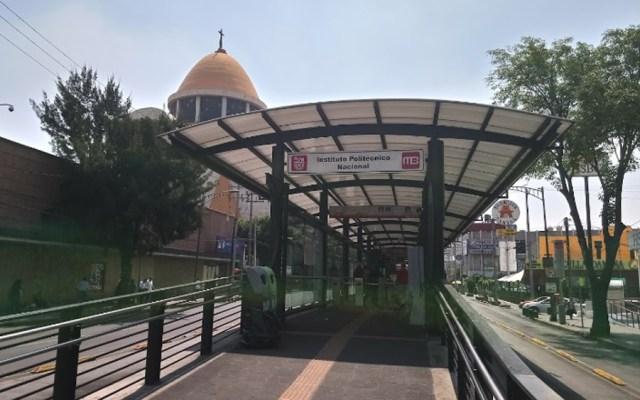 Detiene SSC a hombre por posible abuso sexual en Metrobús - Metrobús Instituto Politécnico Nacional. Foto de Google Maps / Lety Franco