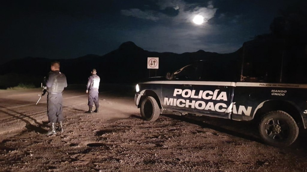 Al menos 10 personas han sido asesinadas en las últimas 24 horas en Michoacán - Foto de SSP Michoacán