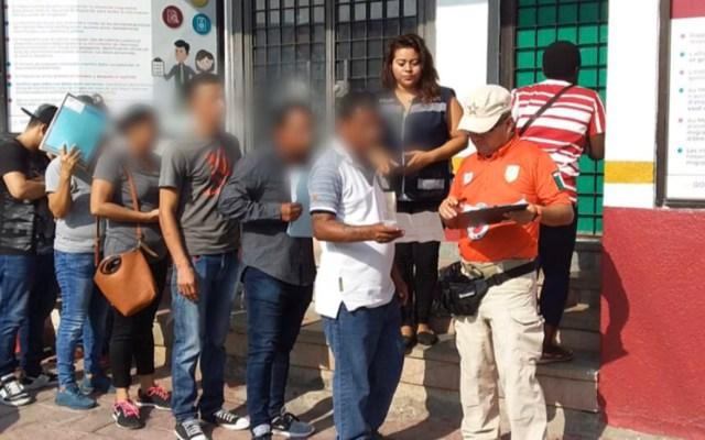 Segob rechaza crisis migratoria en frontera sur - Migrantes en la Estación Migratoria Siglo XXI de Tapachula, Chiapas. Foto de @INAMI_mx