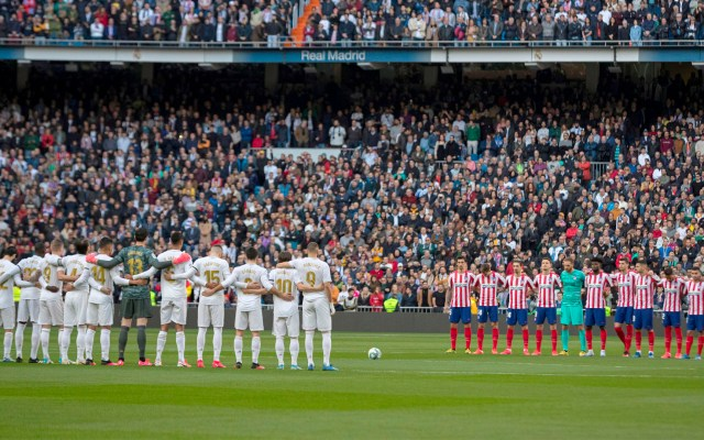 Minuto de silencio en el Santiago Bernabéu por Kobe Bryant - Minuto de silencio en el Santiago Bernabéu en memoria de Kobe Bryant