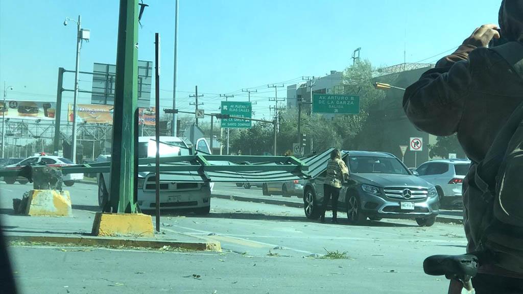 Monterrey daños vientos fuertes Nuevo León 2