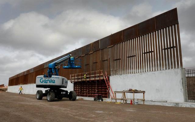 Trump baja a 2 mmdd su petición de fondos para muro fronterizo - Muro construcción Estados Unidos Texas