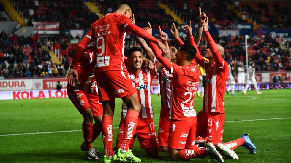 Necaxa rescata empate ante Rayados en el último minuto - Necaxa Monterrey Rayados