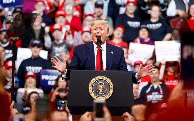 Trump celebra en New Hampshire absolución y arremete contra Pelosi - New Hampshire Donald Trump Estados Unidos 10022020