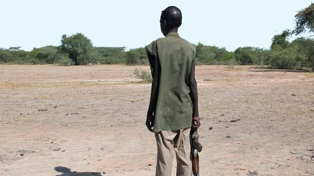 Alrededor de 250 millones de niños viven atrapados en zonas de conflicto - Niño soldado. Foto de Unicef
