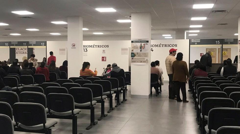 Continúa demora en SRE en entrega de pasaportes - Oficina de Pasaportes de la SRE. Foto de @monicardgza