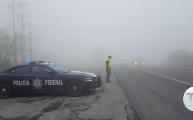 Continúa cerrada la autopista Saltillo-Monterrey - Foto de Telediario.