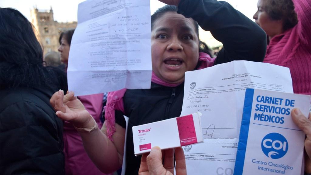 Pacientes con cáncer y VIH en México denuncian escasez de medicamentos - Pacientes de cáncer y VIH en México denuncian escasez de medicamentos