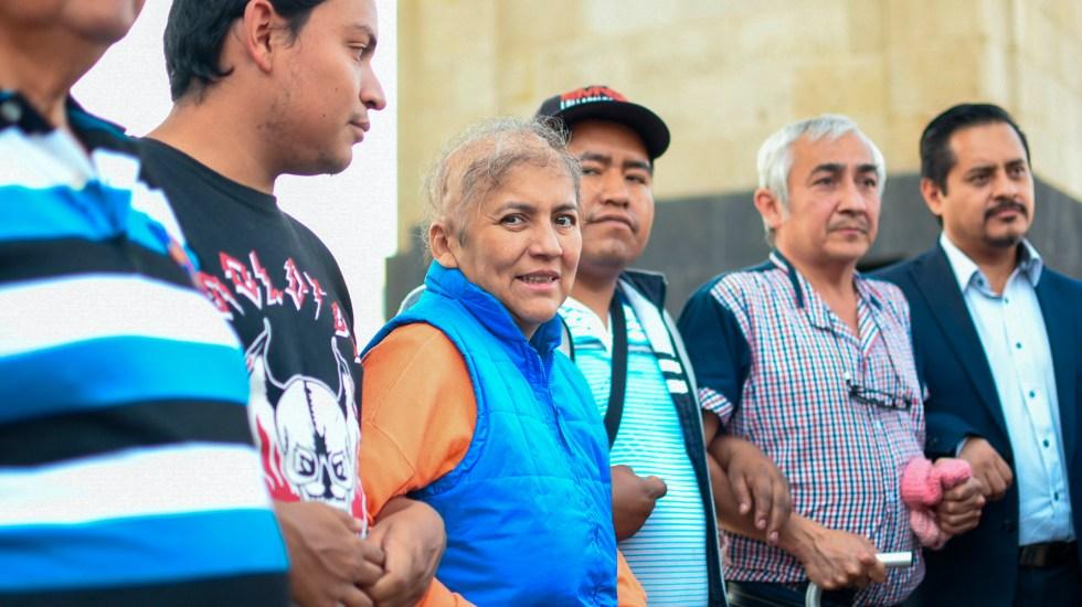 Padres de niños con cáncer se levantan de mesa de negociación con autoridades - Padres de niños con cáncer. Foto de Notimex