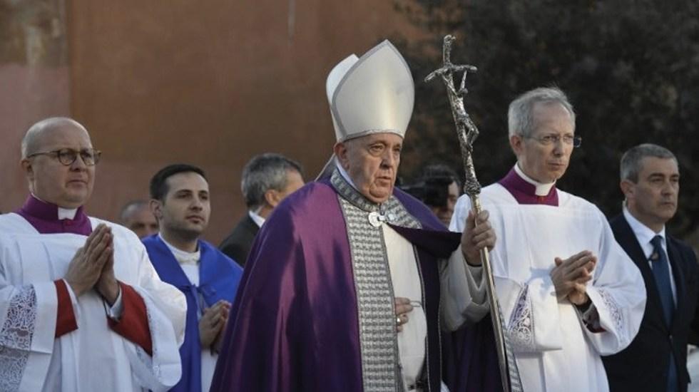 """Papa Francisco advierte del """"polvo que ensucia la vida"""" en Miércoles de Ceniza - Foto de Vatican News"""