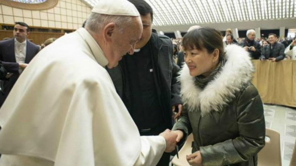 Papa Francisco se reunió con la mujer a la que le dio manotazo - Foto de Catholic News Agency
