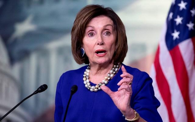 Pelosi acusa a Trump de convertir al Congreso de EE.UU. en un 'reality show' - Pelosi acusa a Trump de convertir el Congreso en un 'reality show'