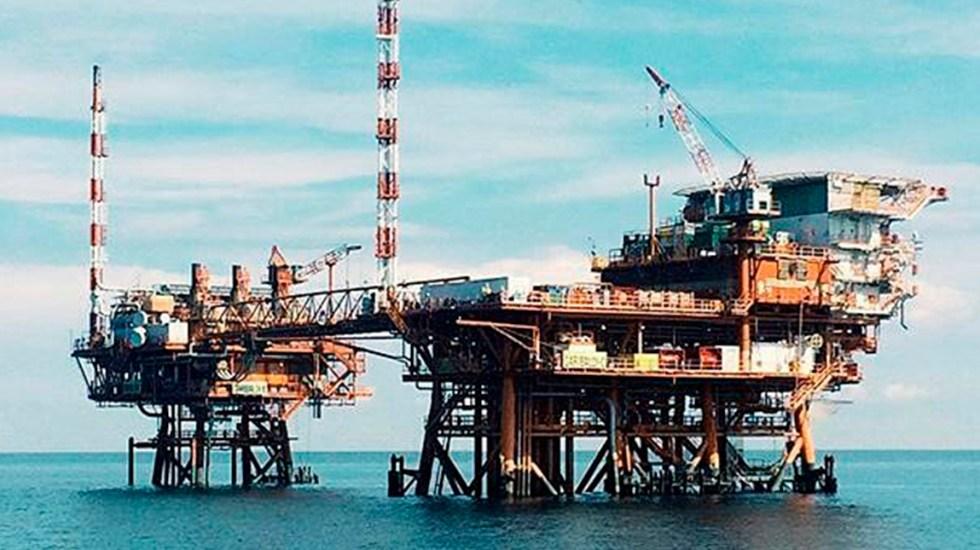 Compañía italiana descubre yacimiento de petróleo en México - Plataforma petrolera de Eni. Foto de @mattiabalsamini