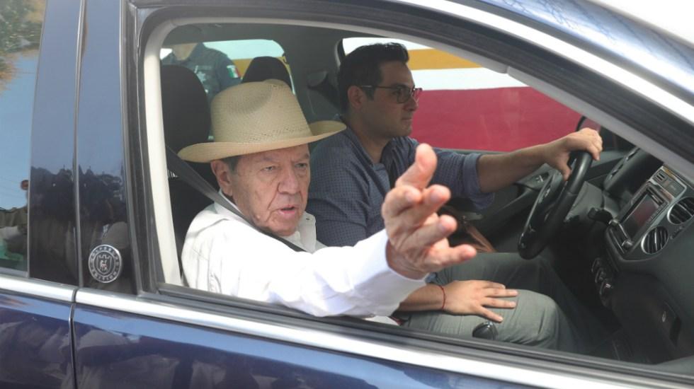 México no tiene por qué hacer caso a Trump en materia de migración, afirma Muñoz Ledo - Foto de Cámara de Diputados