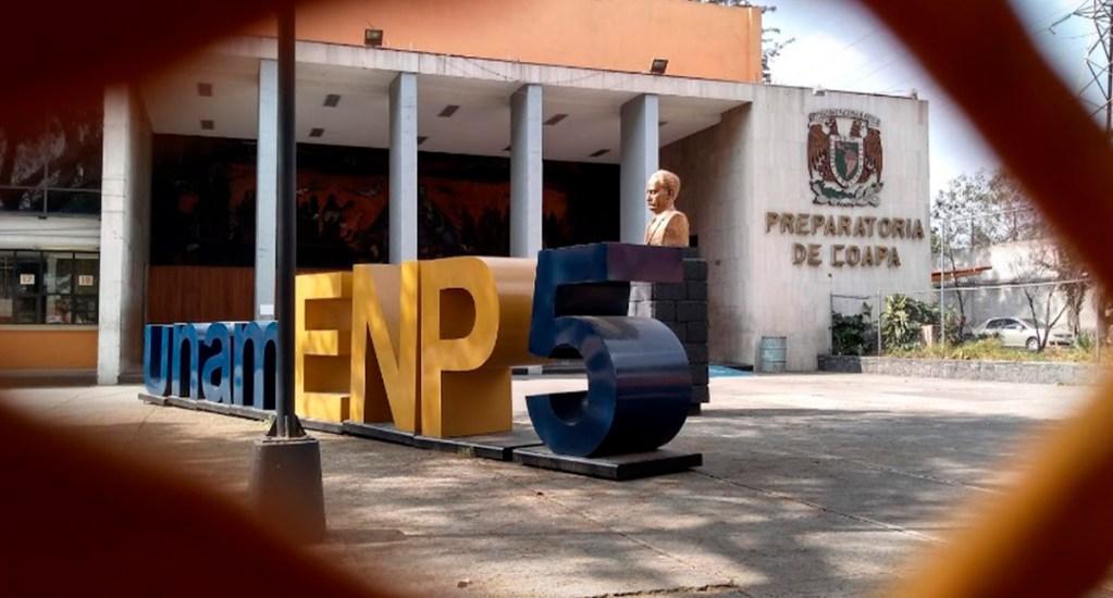 Prepa 5 de la UNAM regresará a clases este miércoles - Prepa 5 de la UNAM. Foto de Google Maps / Alexis Guzmán Hernández