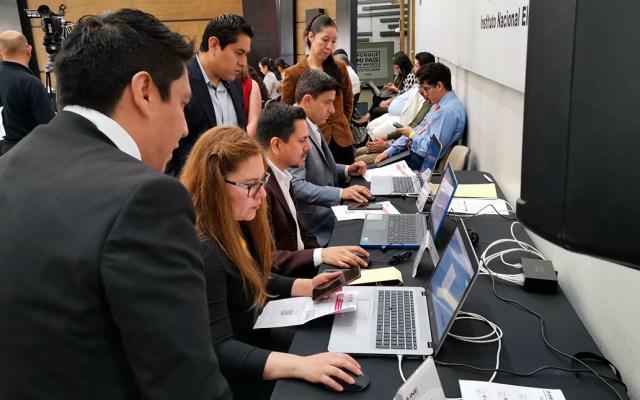 INE presenta avances del Sistema de Voto Electrónico por Internet - Presentación del Sistema de Voto Electrónico en el Extranjero. Foto de @VotoExtranjero