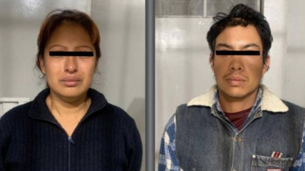 Sigue sin orden de aprehensión presunta pareja asesina de Fátima - Foto de FGJ Edomex
