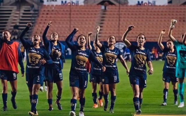 Pumas de la UNAM se suma a #UnDíaSinNosotras - Pumas femenil. Foto de @cagigas_deneva5