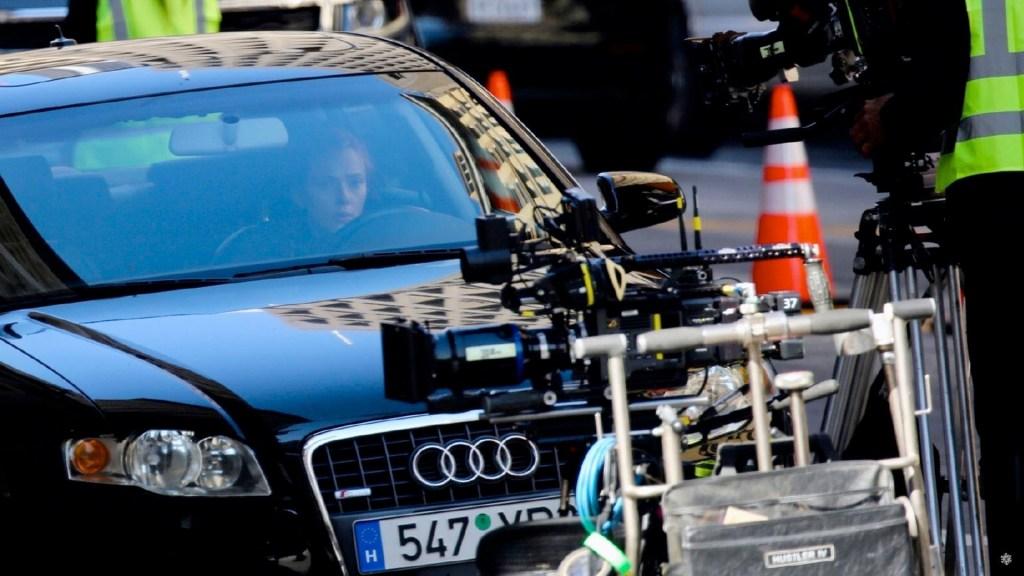 Revelan imágenes del detrás de cámaras de 'Black Widow' - Revelan imágenes del detrás de cámaras de 'Black Widow'