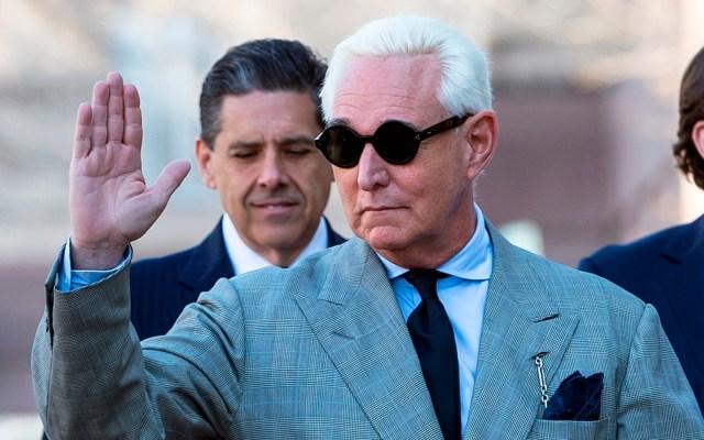 Renuncian los cuatro fiscales del caso contra exasesor de Trump - Roger Stone fue un estrecho colaborador de Trump al inicio de su campaña electoral en 2015. Foto de EFE