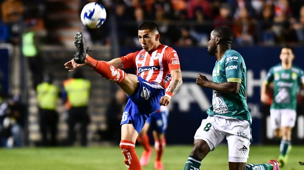 Atlético San Luis aplasta a León con doblete de Ibáñez - San Luis León partido Liga MX 2