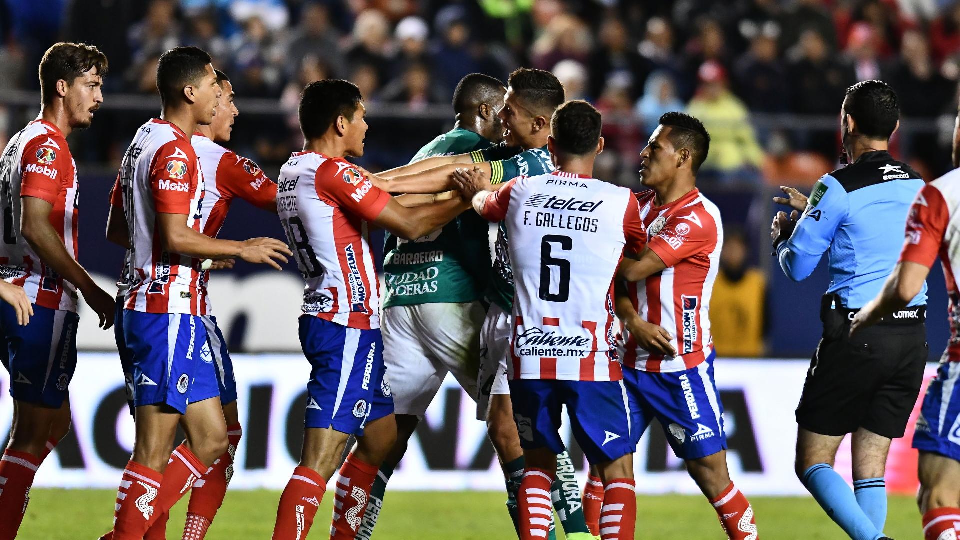 San Luis León partido Liga MX