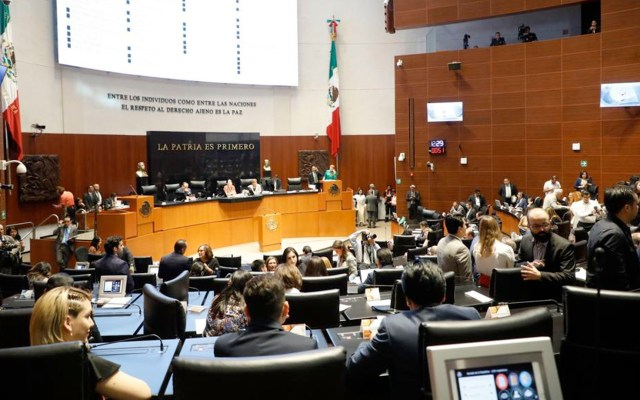 Aprobar la Ley de Amnistía sería un error, señaló Jorge Carlos Ramírez Marín, senador del PRI - Senado se suma al paro#UnDíaSinNosotras